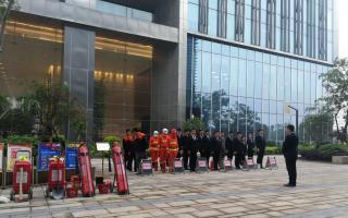 旅投资本公司消防演练活动